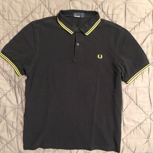 Fred Perry slim fit twin tipped logo polo